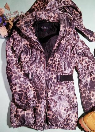 Куртка пуховик kira plastinina xs