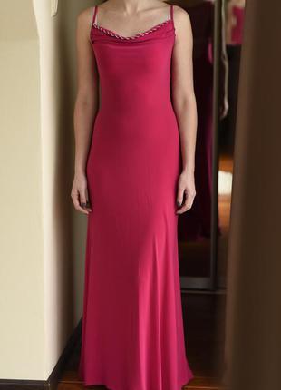 Красиве вечірнє плаття.