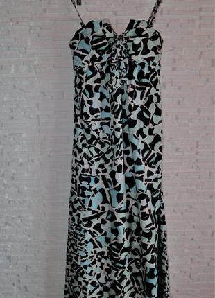Длинное платье макси ted baker