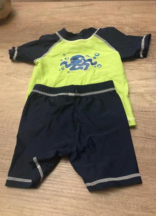 Купальный костюм для мальчика alive р.74/80