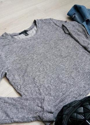 Кофта блуза свитшот свитер кроптоп
