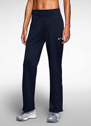 Синие спортивные штаны nike