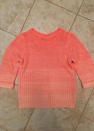 Милый персиковый свитер atmosphere5