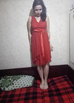 Трендовое красное платье от bcbg max azria!
