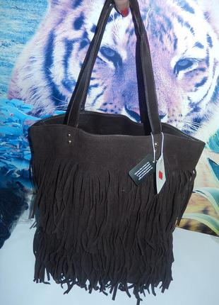 Стильная сумочка с бахромой от new look ,новая