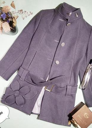Дизайнерское пальто hand made