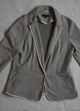 Пиджак трикотажный большой размер
