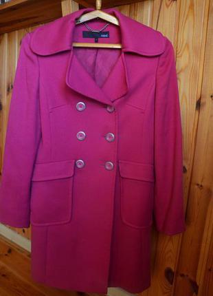 Розовое пальто next