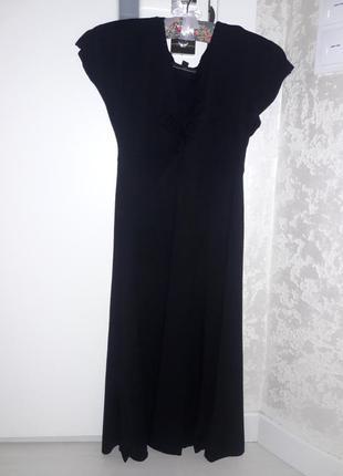 Черное летнее платье warehouse