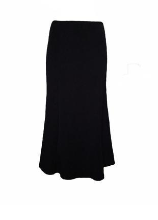 Длинная юбка годе в пол макси, расклешенная юбка размер 10 наш 44