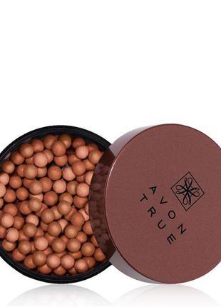 Румяна-шарики для лица avon true, glow bronzing pea