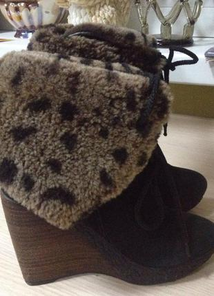 Зимние ботинки натуральные welfare