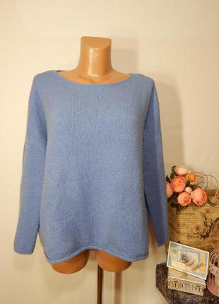 Мягкий объемный свитер букле от zara