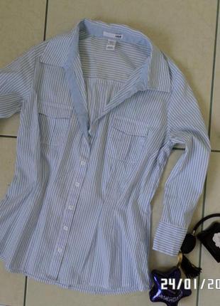 H&m xs-s-m блузка