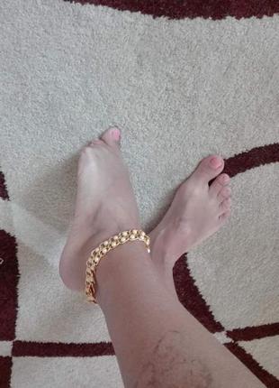 💣 💣 💣браслет на ногу цепь с жемчужинами  смотрите все мои предложения!
