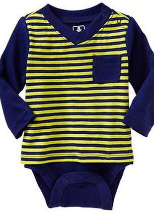 Детский бодик old navy 0-3m для новорожденного от 0 до 3 месяцев