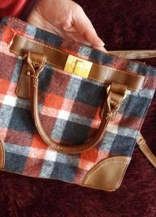Сумка, сумочка маленькая на длинной и короткой ручках