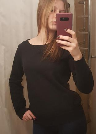 Черный свитер m&s