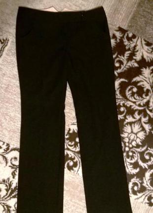 Прямые брюки классика на высокий рост (идеал.сост)