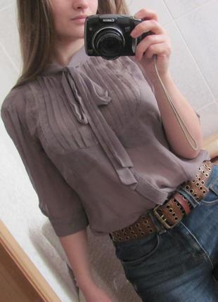 Блузка шифоновая от new look