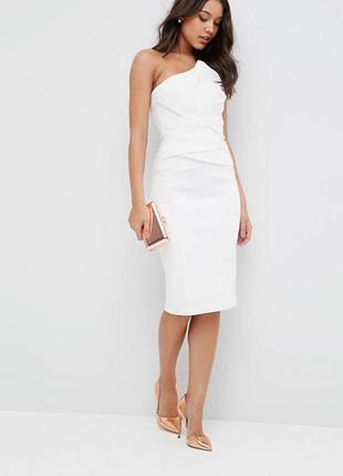 Шикарное платье для торжественных случаев, свадебное asos