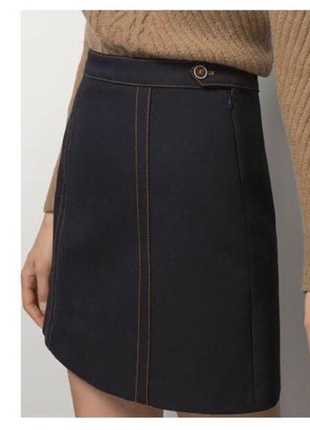 Продам юбку massimo dutti1 фото