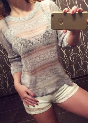 Легкий свитерок zara