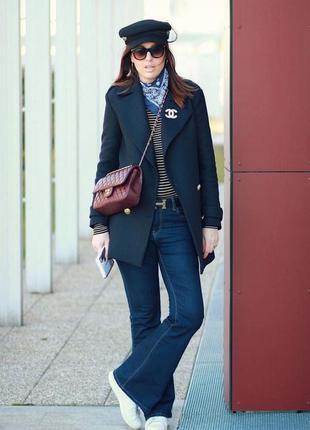 Стильные джинсы клеш размер xs