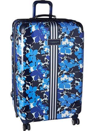 """Огромный чемодан tommy hilfiger floral 29"""""""