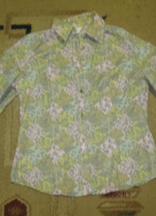 Рубашка цветная damart