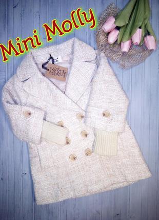 Современное классическое пальто, пальтишко, 104- 110, mini molly, франция