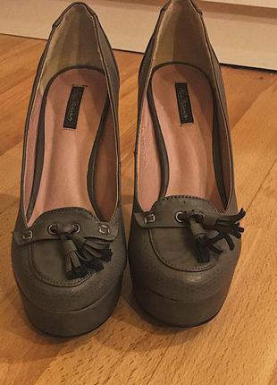 Туфли на высоком каблуке kira plastinina