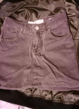 Стильная джинсовая мини-юбка от h&m