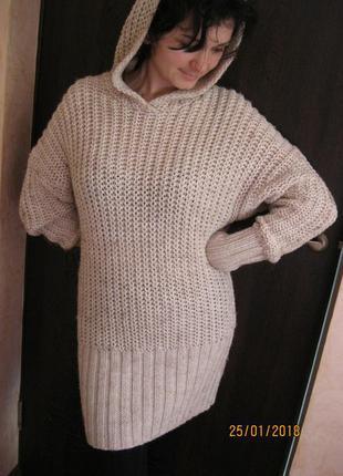 Платье туника..свитер