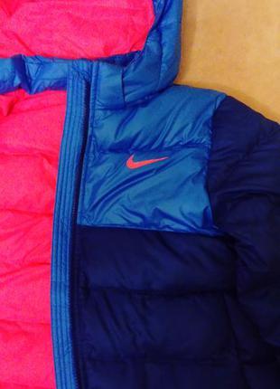 Куртка пуховик  nike оригинал на девушку или подростка пух