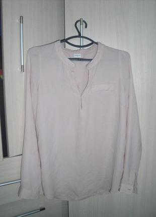 Городская блуза цвет пудра