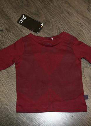 Кофта (футболка) новая с биркой рр62см от 3мес 65грн