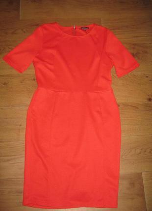 Красное платье warehouse 12-14