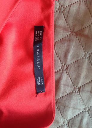 Акція! безкоштовна доставка до 23.01 червона сукня zara розмір хс2