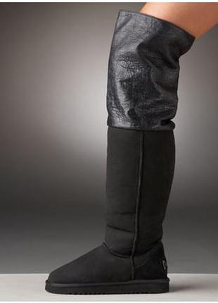 Шикарные угги australia luxe, сапоги / замша, мех / ботфорты