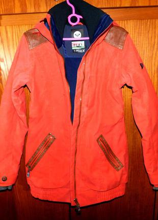 Куртка лыжная, сноубордическая женская, англ. бренд  roxy, оригинал,р. с, м