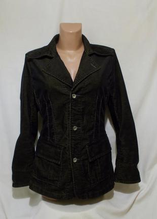 Новый пиджак вельвет золотисто-черный *g-star raw* army blazer wmn 46-48р