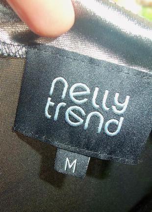 Платье мини по фигуре цвета металлик / серебристое nelly trend s,m3