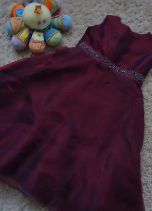 Вечернее платье 4-6 лет