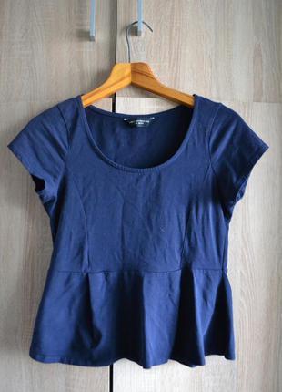 Классная блуза с баской от dorothy perkins