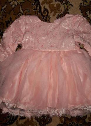 Платье нарядное. фабричный китай