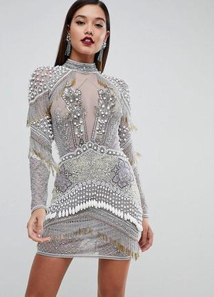 Платье asos edition premium! size 12!