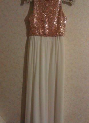 Шикарное платье miss selfridge
