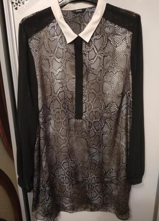 Блузка- туника, размер 54-56