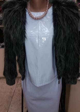 Меховая куртка шуба